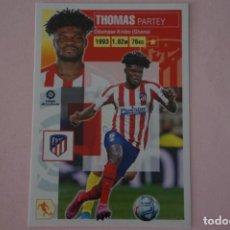 Cromos de Fútbol: CROMO DE FUTBOL THOMAS DEL ATLETICO DE MADRID SIN PEGAR Nº 11 A LIGA ESTE 2020-2021/20-21. Lote 222063206
