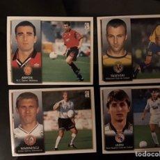 Cromos de Fútbol: 4 CROMOS COLOCAS LIGA 1998-1999 98-99 NUNCA PEGADOS EDICIONES ESTE. Lote 222088110