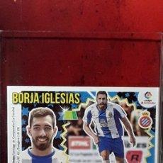 Cromos de Fútbol: LE LIGA ESTE 2018 2019 SANTANDER 18 19 CROMO PANINI FUTBOL N 5 FICHAJES ESPANYOL BORJA IGLESIAS. Lote 222088222
