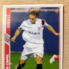 Cromos de Fútbol: # 581 DIEGO CAPEL FICHAJE SEVILLA MUNDICROMO 2008. Lote 222089083