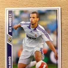 Cromos de Fútbol: # 575 SOLDADO FICHAJE REAL MADRID MUNDICROMO 2008. Lote 222089258