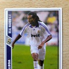 Cromos de Fútbol: # 573 BALBOA FICHAJE REAL MADRID MUNDICROMO 2008. Lote 222089293