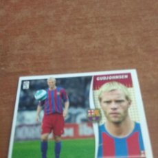 Cromos de Fútbol: LIGA ESTE 2006/07 GUDJOHNSEN FC BARCELONA. Lote 222099456