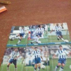 Cromos de Fútbol: MEGAFICHAS PANINI 2003-2004 11 FICHAS MALAGA CF. Lote 222104740