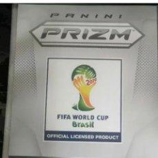 Cromos de Fútbol: 2014 MUNDIAL PRIZM CON 201 TARJETAS BÁSICAS CON ARCHIVADOR ORIGINAL MESSI RONALDO Y NEYMAR. Lote 222113116