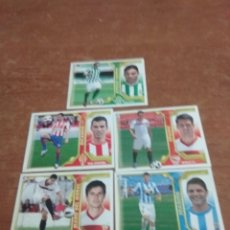 Cromos de Fútbol: LIGA ESTE 2011-12 5 ULTIMOS FICHAJES PERFECTO ESTADO. Lote 222116798