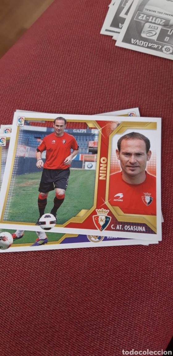 NINO OSASUNA FICHAJE 9 11 12 2011 2012 SIN PEGAR (Coleccionismo Deportivo - Álbumes y Cromos de Deportes - Cromos de Fútbol)