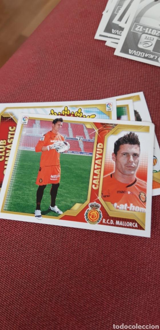 CALATAYUD..MALLORCA 11 12 2011 2012 SIN PEGAR (Coleccionismo Deportivo - Álbumes y Cromos de Deportes - Cromos de Fútbol)
