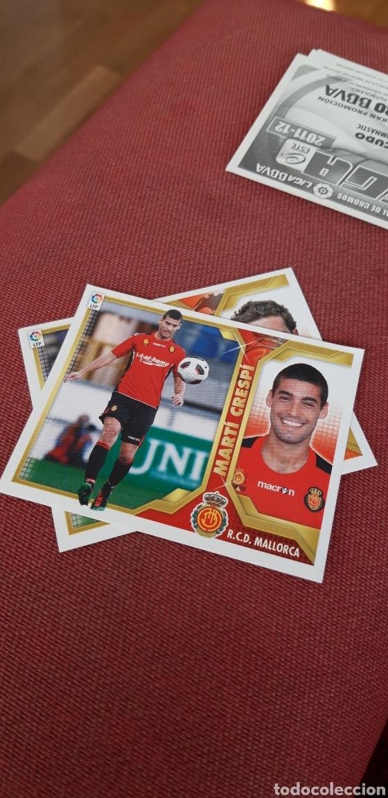 CRESPI MALLORCA 11 12 2011 2012 SIN PEGAR (Coleccionismo Deportivo - Álbumes y Cromos de Deportes - Cromos de Fútbol)