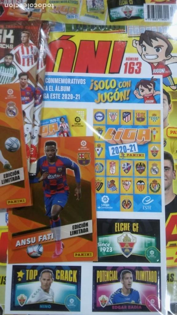 Cromos de Fútbol: Revista Jugon 163 Panini CROMO ANSU FATI Y CONMEMORATIVOS Y CHICLE LIGA DEL ELCHE $ - Foto 2 - 222129953