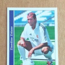 Cromos de Fútbol: CROMO Nº 17 ZIDANE REAL MADRID MUNDICROMO 2001-2002. NUEVO DE SOBRE.. Lote 222130331