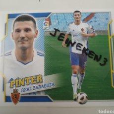 Cromos de Fútbol: ESTE LIGA 2010/11 PINTER FICHAJE 46 ZARAGOZA. Lote 222130378