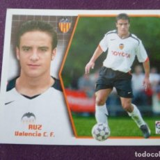 Cromos de Fútbol: RUZ - BAJA - VALENCIA C.F. - CROMO LIGA ESTE - 2005-06 05 06 - NUNCA PEGADO. Lote 222130428