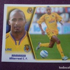 Cromos de Fútbol: ARMANDO - BAJA - VILLARREAL C.F. - CROMO LIGA ESTE - 2005-06 05 06 - NUNCA PEGADO. Lote 222130473