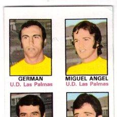 Cromos de Fútbol: CROMO DE FUTBOL ALBUM 1974-75 FHER: ADHESIVO Nº 64, U.D. LAS PALMAS (SEP-20). Lote 222130512