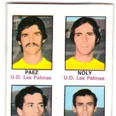 Cromos de Fútbol: CROMO DE FUTBOL ALBUM 1974-75 FHER: ADHESIVO Nº 63, U.D. LAS PALMAS (SEP-20). Lote 222130541