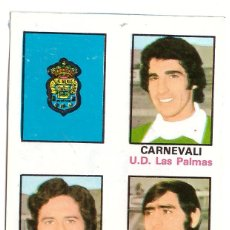 Cromos de Fútbol: CROMO DE FUTBOL ALBUM 1974-75 FHER: ADHESIVO Nº 61, U.D. LAS PALMAS (SEP-20). Lote 222130598