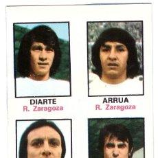 Cromos de Fútbol: CROMO DE FUTBOL ALBUM 1974-75 FHER: ADHESIVO Nº 56, R. ZARAGOZA (SEP-20). Lote 222130821