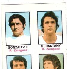 Cromos de Fútbol: CROMO DE FUTBOL ALBUM 1974-75 FHER: ADHESIVO Nº 55, R. ZARAGOZA (SEP-20). Lote 222130852