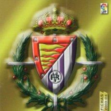 Cromos de Fútbol: ESCUDO DEL REAL VALLADOLID - Nº 307 - MEGAFICHAS 2003/2004 - PANINI.. Lote 222140647