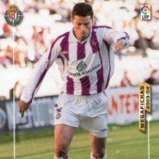 Cromos de Fútbol: TORRES GÓMEZ (REAL VALLADOLID) - Nº 309 - MEGAFICHAS 2003/2004 - PANINI.. Lote 222140915