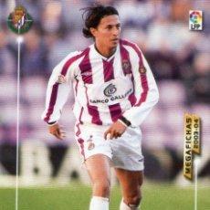Cromos de Fútbol: PEÑA (REAL VALLADOLID) - Nº 310 - MEGAFICHAS 2003/2004 - PANINI.. Lote 222141022