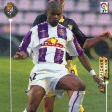 Cromos de Fútbol: JULIO CÉSAR (REAL VALLADOLID) - Nº 311 BIS - NUEVA FICHA - MEGAFICHAS 2003/2004 - PANINI.. Lote 222141207