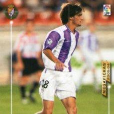 Cromos de Fútbol: RICCHETTI (REAL VALLADOLID) - Nº 312 BIS - NUEVA FICHA - MEGAFICHAS 2003/2004 - PANINI.. Lote 222141367