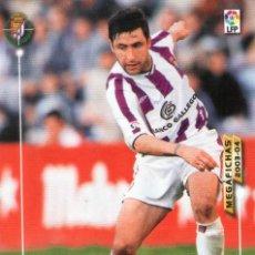 Cromos de Fútbol: MARCOS (REAL VALLADOLID) - Nº 314 - MEGAFICHAS 2003/2004 - PANINI.. Lote 222141593