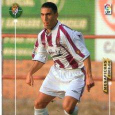 Cromos de Fútbol: JONATHAN (REAL VALLADOLID) - Nº 315 - MEGAFICHAS 2003/2004 - PANINI.. Lote 222141710
