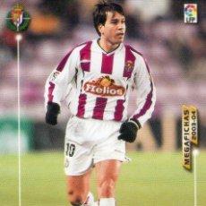 Cromos de Fútbol: SOUSA (REAL VALLADOLID) - Nº 317 - MEGAFICHAS 2003/2004 - PANINI.. Lote 222143257