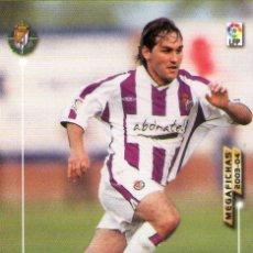 Cromos de Fútbol: CHEMA (REAL VALLADOLID) - Nº 318 - MEGAFICHAS 2003/2004 - PANINI.. Lote 222143370