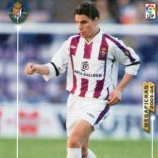 Cromos de Fútbol: ÓSCAR (REAL VALLADOLID) - Nº 321 - MEGAFICHAS 2003/2004 - PANINI.. Lote 222144913