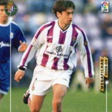 Cromos de Fútbol: CIRIC (REAL VALLADOLID) - Nº 322 - MEGAFICHAS 2003/2004 - PANINI.. Lote 222145040