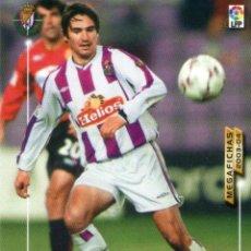 Cromos de Fútbol: PACHÓN (REAL VALLADOLID) - Nº 323 - MEGAFICHAS 2003/2004 - PANINI.. Lote 222145161