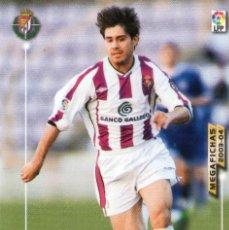 Cromos de Fútbol: AGANZO (REAL VALLADOLID) - Nº 324 - MEGAFICHAS 2003/2004 - PANINI.. Lote 222145376