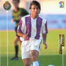 Cromos de Fútbol: CARDETTI (REAL VALLADOLID) - Nº 324 BIS - NUEVA FICHA - MEGAFICHAS 2003/2004 - PANINI.. Lote 222145583