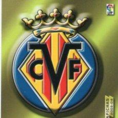 Cromos de Fútbol: ESCUDO DEL VILLARREAL C.F. - Nº 325 - MEGAFICHAS 2003/2004 - PANINI.. Lote 222146760