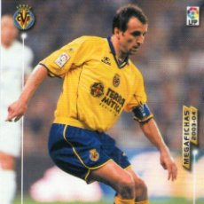 Cromos de Fútbol: QUIQUE ÁLVAREZ (VILLARREAL C.F.) - Nº 329 - MEGAFICHAS 2003/2004 - PANINI.. Lote 222148381