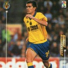 Cromos de Fútbol: UNAI (VILLARREAL C.F.) - Nº 330 - MEGAFICHAS 2003/2004 - PANINI.. Lote 222148490
