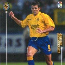 Cromos de Fútbol: PEDRO MARTÍ (VILLARREAL C.F.) - Nº 330 BIS - NUEVA FICHA - MEGAFICHAS 2003/2004 - PANINI.. Lote 222148697
