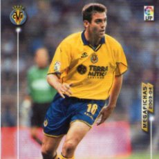 Cromos de Fútbol: BALLESTEROS (VILLARREAL C.F.) - Nº 331 - MEGAFICHAS 2003/2004 - PANINI.. Lote 222148848