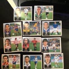 Cromos de Fútbol: 9 COLOCAS Y 2 ÚLTIMOS FICHAJES LIGA 1998-1999 98-99 NUNCA PEGADOS EDICIONES ESTE. Lote 222151491