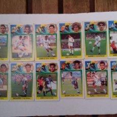 Cromos de Fútbol: LOTE CROMOS FUTBOL COLOCA LIGA 93-94 ESTE DOCE CROMOS CARTON NO PEGADOS.. Lote 222220068