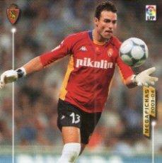 Cromos de Fútbol: LÁINEZ (REAL ZARAGOZA) - Nº 344 - MEGAFICHAS 2003/2004 - PANINI.. Lote 222222366