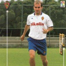 Cromos de Fútbol: FERRÓN (REAL ZARAGOZA) - Nº 345 - MEGAFICHAS 2003/2004 - PANINI.. Lote 222222510