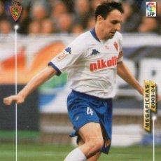 Cromos de Fútbol: CUARTERO (REAL ZARAGOZA) - Nº 346 - MEGAFICHAS 2003/2004 - PANINI.. Lote 222222942