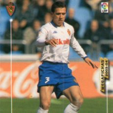 Cromos de Fútbol: REBOSIO (REAL ZARAGOZA) - Nº 347 - MEGAFICHAS 2003/2004 - PANINI.. Lote 222223067
