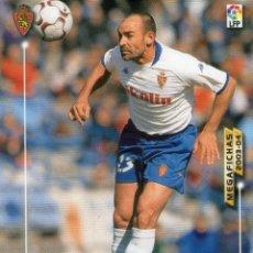 Cromos de Fútbol: PACO (REAL ZARAGOZA) - Nº 348 - MEGAFICHAS 2003/2004 - PANINI.. Lote 222223246