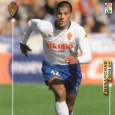 Cromos de Fútbol: TOLEDO (REAL ZARAGOZA) - Nº 349 - MEGAFICHAS 2003/2004 - PANINI.. Lote 222223386